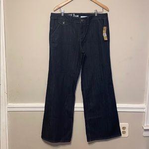 DKNY Wide Leg Jeans
